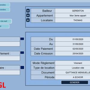 EasyGL 2020: Votre Gestion Locative